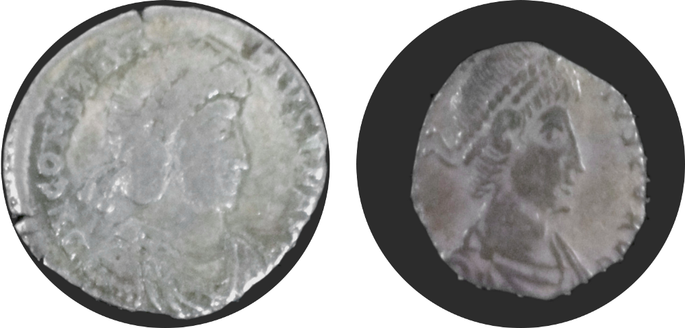 example of shaved coin