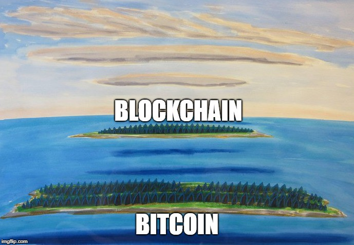 Blockchain not bitcoin