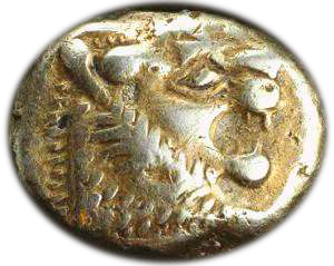 Early coin from Turkey